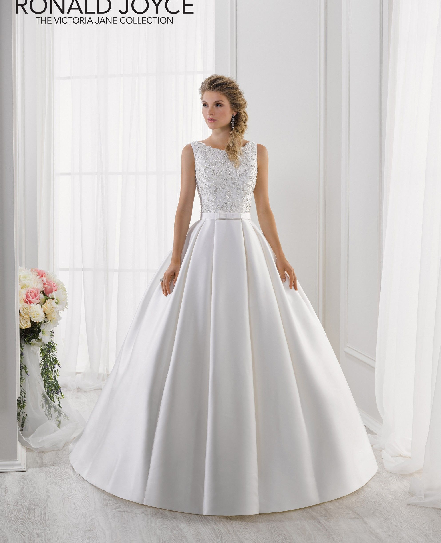 Ronald Joyce International Wedding Dresses And Bridal Gowns Satin Bridal Gowns Wedding Dresses Romantic Wedding Gown Inspiration