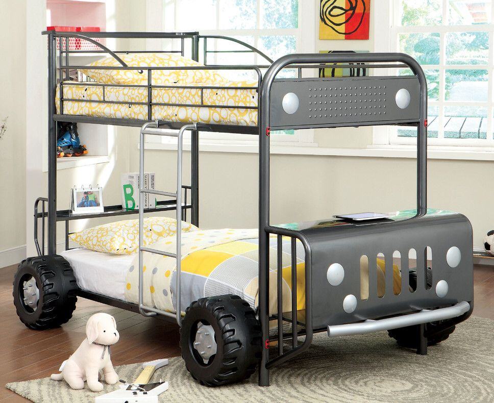 Jaymes Twin Bunk Bed | Bunk bed, Twins and Kids rooms