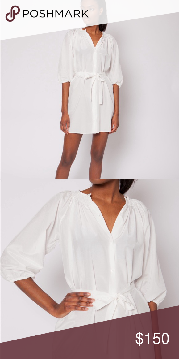NEW • Tucker NYC • The Classic Mini Dress White