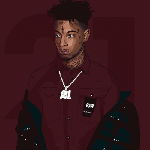 trap central 21 savage trill art hip hop art savage wallpapers pinterest