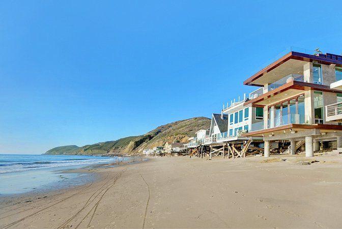 Modern Malibu Beach House California Als