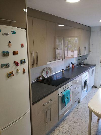 Cambio de Muebles de cocina. Color elegido para muebles altos Luxe ...
