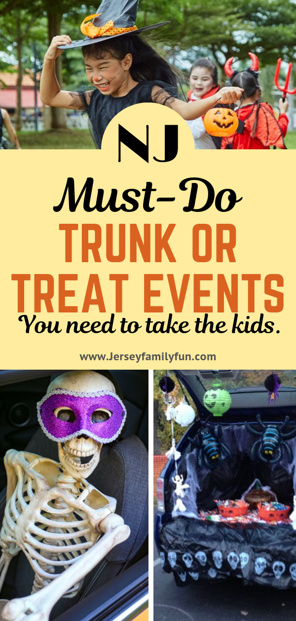 No Tricks, Just Treats at these New Jersey Trunk or Treat