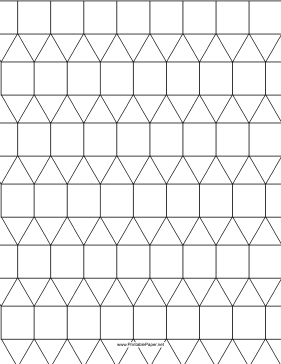 Printable 3 3 3 4 4 Tessellation Coloring Pages Geometry Projects Geometric Pattern