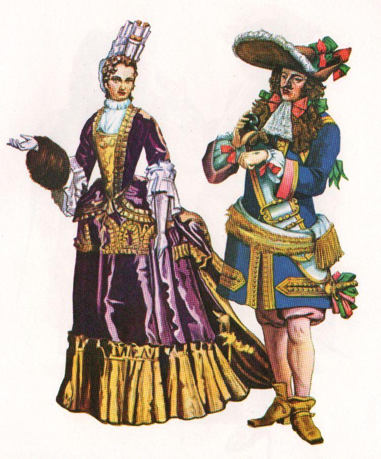 мода в эпоху барокко картинки красавицам наиболее подойдут