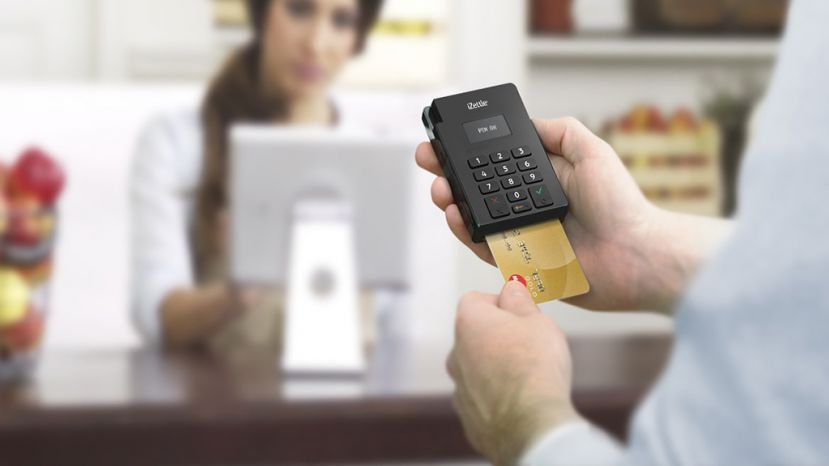 Cashless mini chip card reader izettle makes card payments much cashless mini chip card reader izettle makes card payments much easier for small businesses in reheart Images