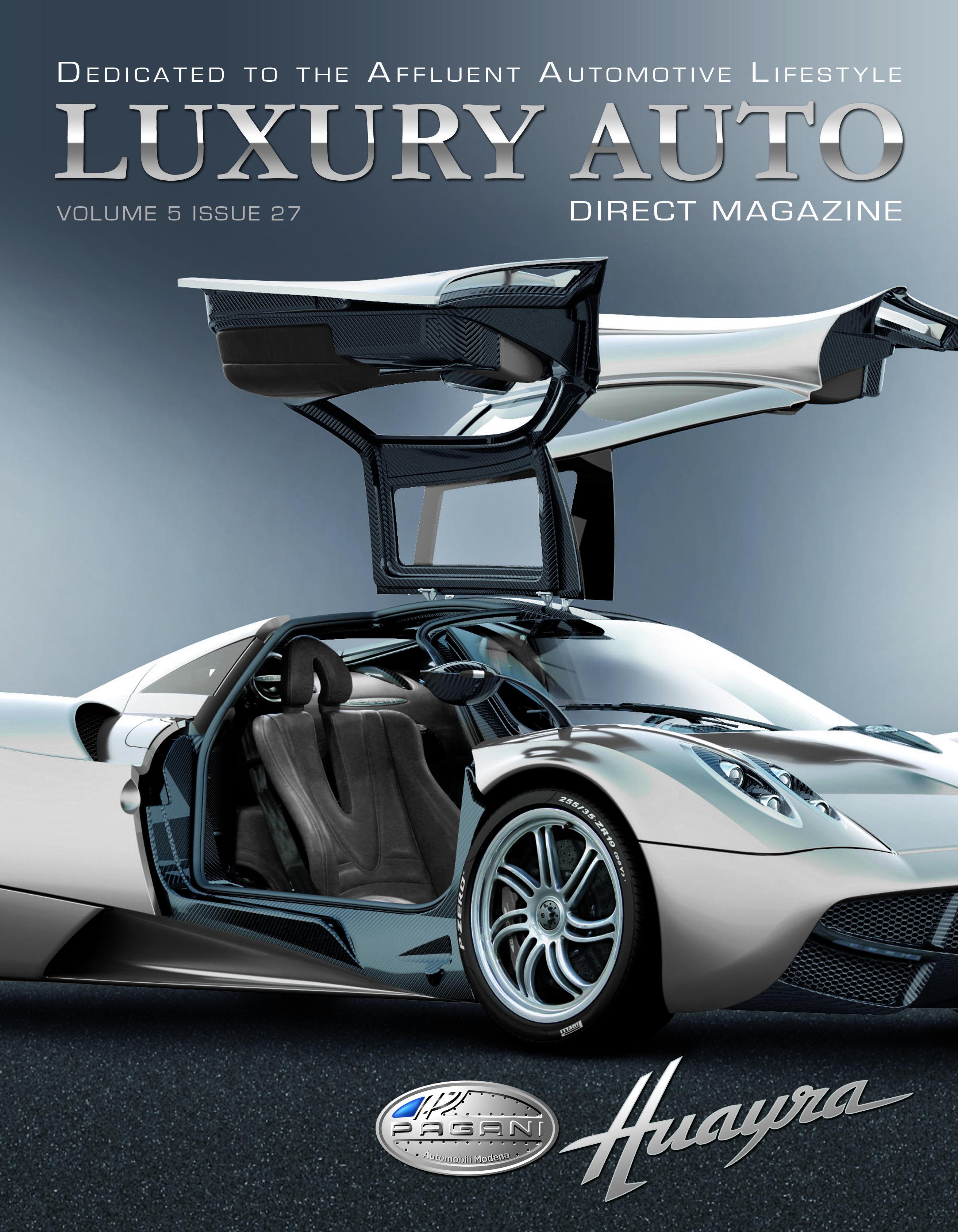Issue 27 Featuring The Pagani Huayra Luxury Cars Pagani Huayra Print Ads