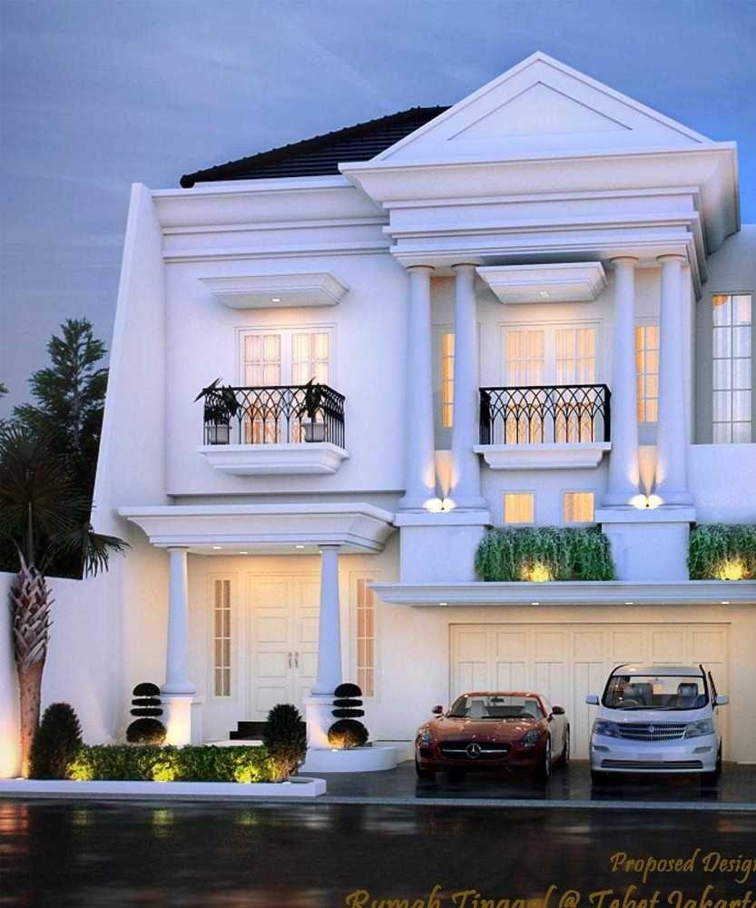 Photo Rumah Tebet Denah Rumah Klasik At Tebet 3 Desain Arsitek Oleh Faiz Arsitag Desain Rumah Eksterior Desain Depan Rumah Desain Rumah Kontemporer