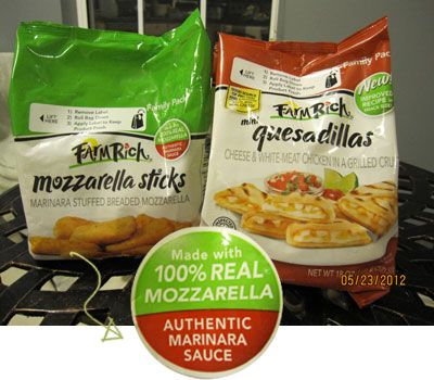Farm Rich Snacks 2 (6.99 Value) Coupons {Ends 6/2/12}