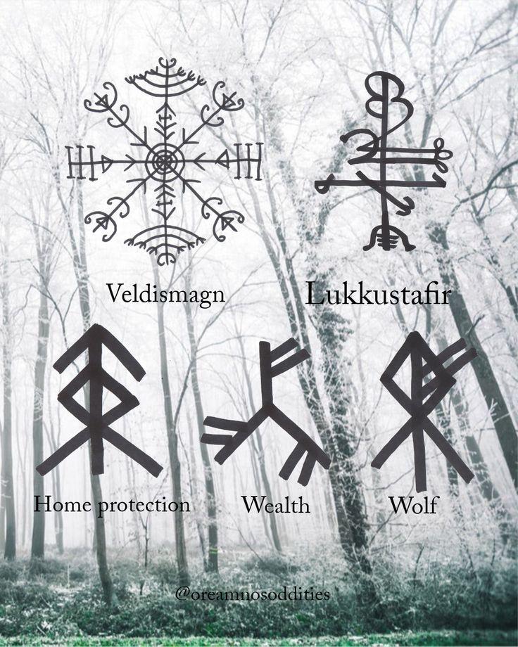 Viking Rune Tattoos Norse Symbols