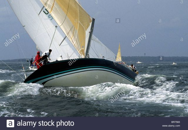 Ior 50 Footer Windrose Broaches In Strong Winds Ouch Gallery Sailing Anarchy Forums Classic Sailboat Strong Wind Sailboat