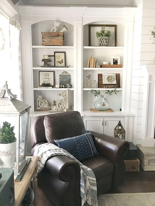 45 Incredible European Farmhouse Living Room Design
