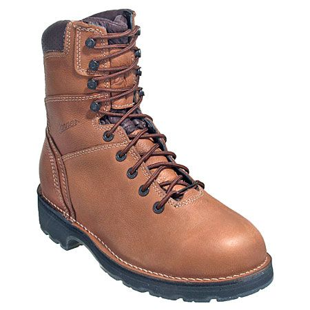 Danner Boots: Men's 16005 Brown Waterproof EH Workman Boots ...