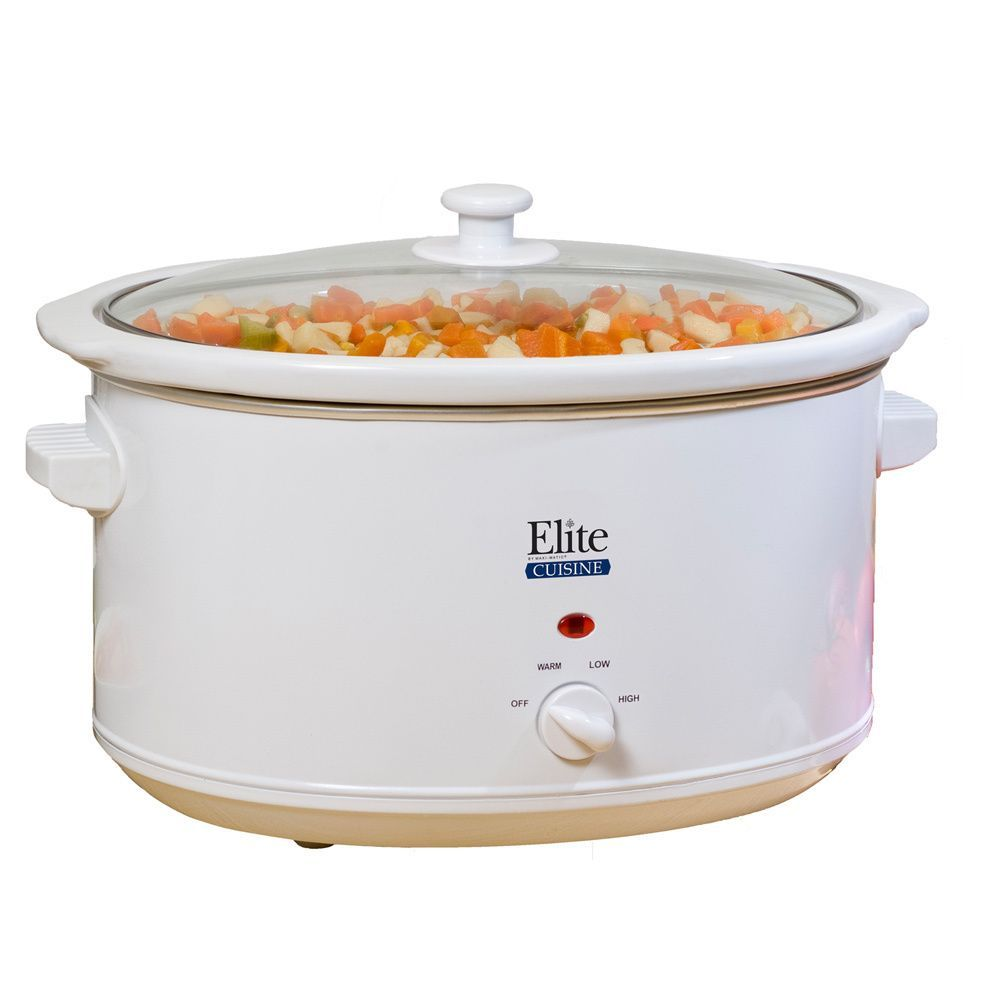 Maxi Matic Elite Cuisine 8.5-quart Slow Cooker