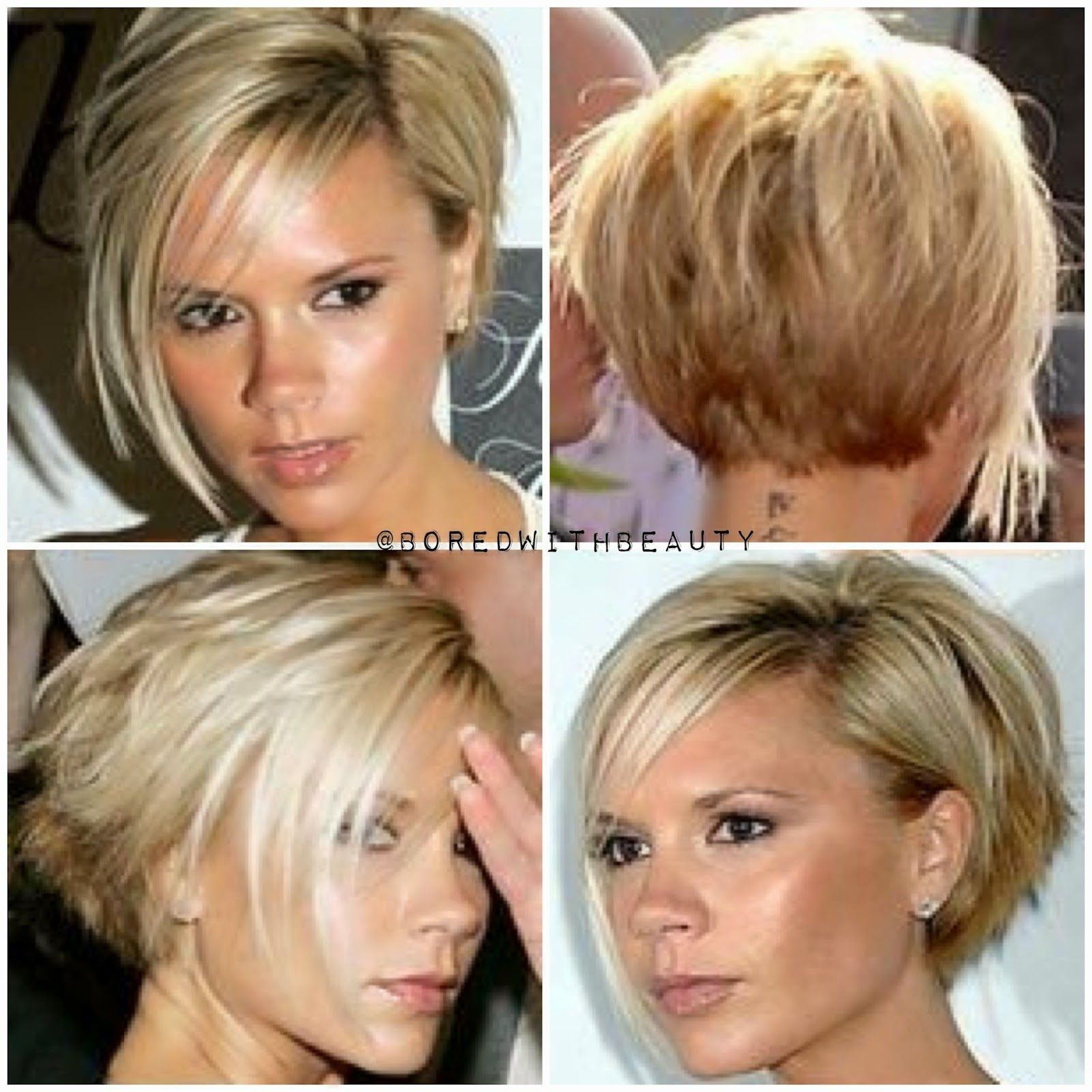 pin by jill dring on short layered bobs | beckham hair