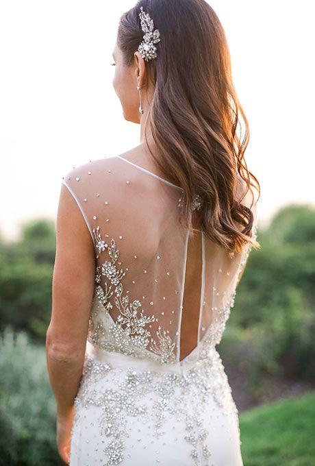 Beauty Wedding Dresses Wedding Hair Down Bride