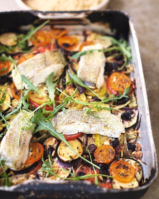 Nice easy traybake recipe from my new book guys sicilian fish nice easy traybake recipe from my new book guys sicilian fish bake with aubergine forumfinder Choice Image