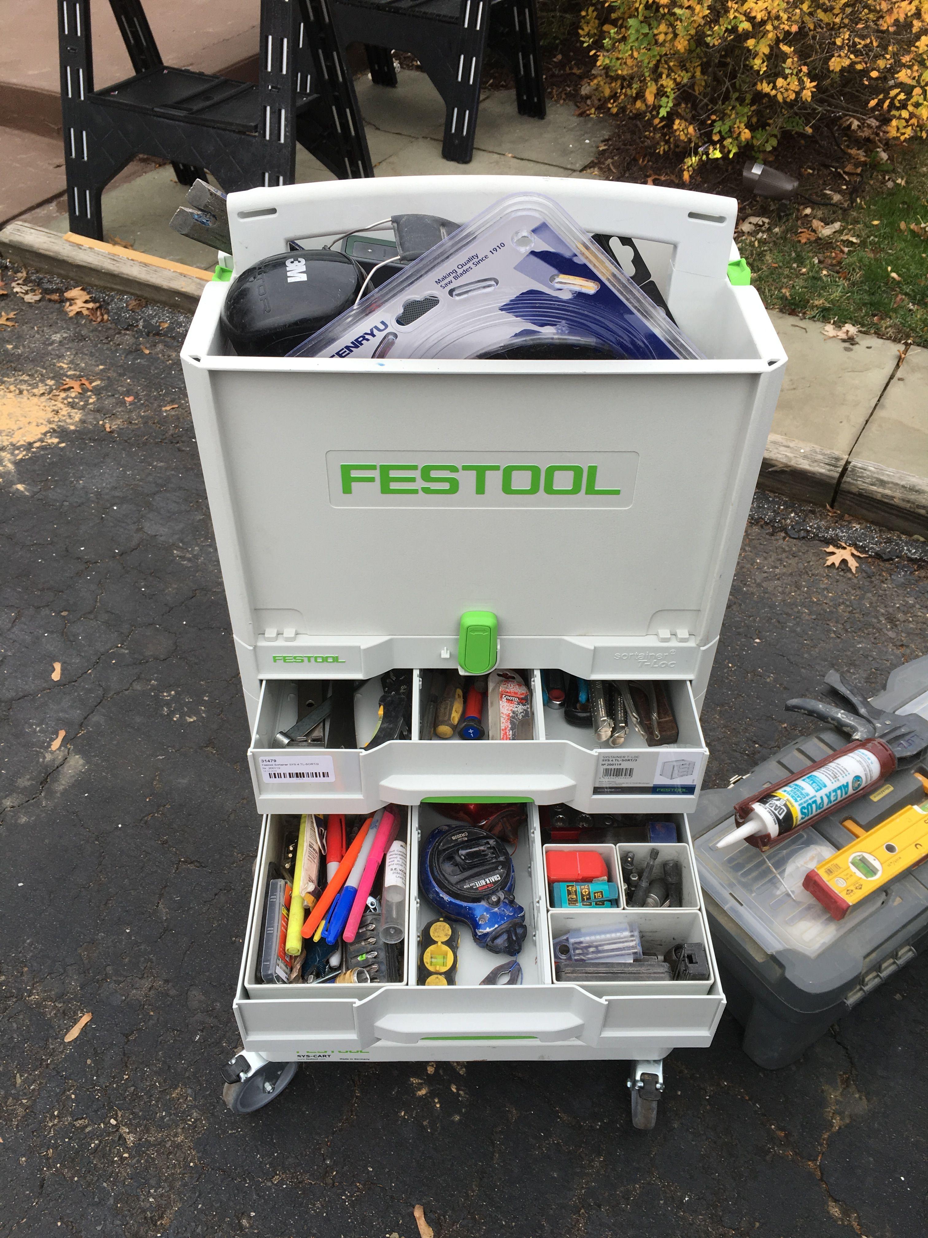 Sys 4 Tl Sort 3 Anyone Using For Hand Tools Festool Tools Tool Storage Diy Festool