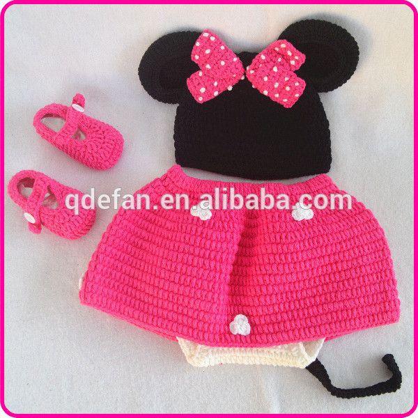 Cute-crochet-Minnie-hat-Mouse-pattern-costume.jpg (600×600) | Ideas ...