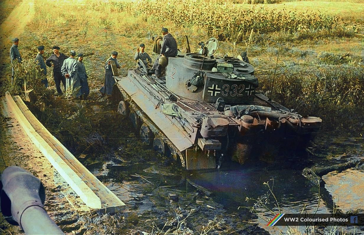 Pin by Steven Jones on Tiger Tanks Stuck in the mud