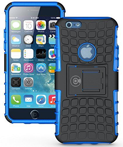 Iphone 6s Case Iphone 6 Case By Cable And Case Heavy Duty Tough Dual Layer 2 In 1 Rugged Rubber Hybrid Hard Soft Impact Protective Cover With Kickstand S Iphone 6