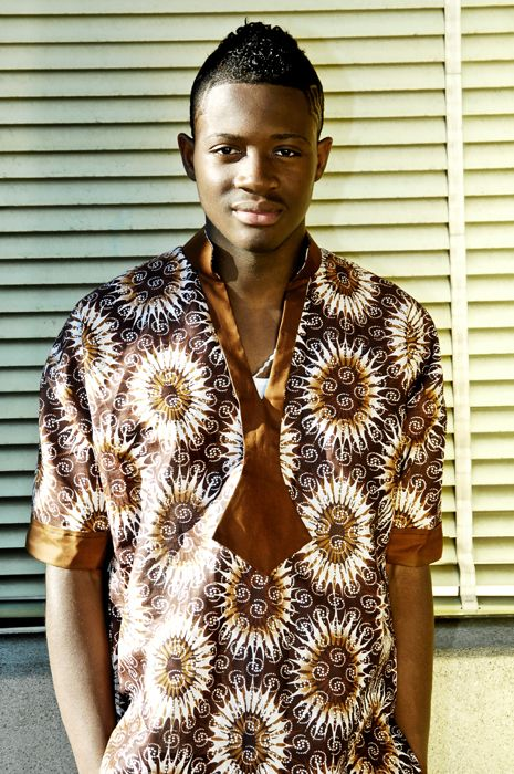 Simple and cool Ankara or batik (adire) will be lovely