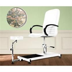 Buy Pedicure u0026 Manicure Chairs for less. Get the best prices on accessories u0026 replacement parts for your manicure u0026 pedicure equipment at Massage Warehouse.  sc 1 st  Pinterest & White Hydraulic Pedicure Chair - Chairs u0026 Equipment - Massage ...