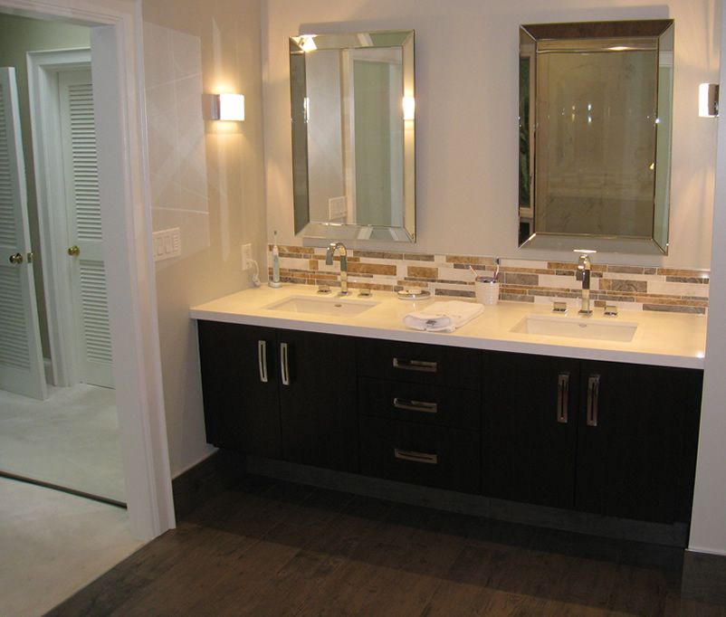 If you are planning to get married soon you might want to for Double basin bathroom sinks