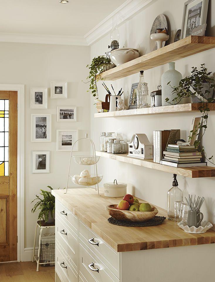 Howdens White shaker kitchen, Budget kitchen remodel