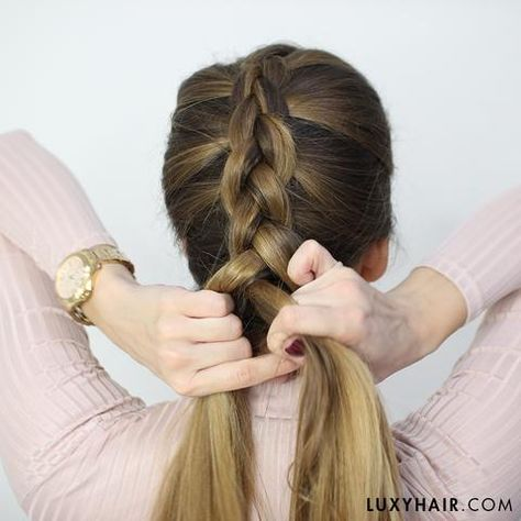 How To Do A Dutch Braid Hair Tutorial For Beginners With Images