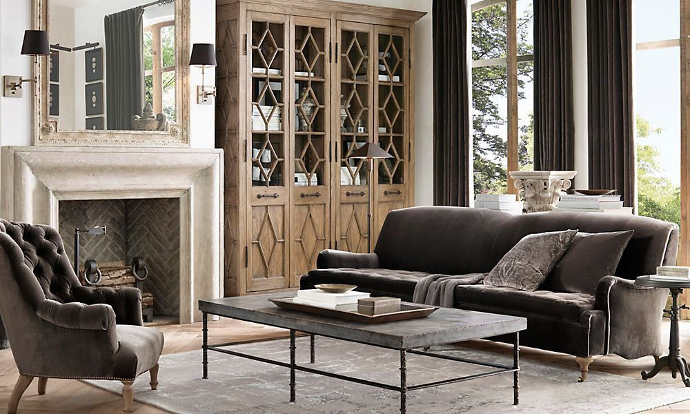 Best Rooms Restoration Hardware Simple But Elegant Decor 400 x 300