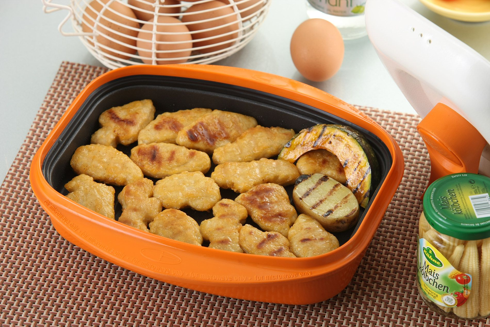 En Nuggets Using Rangemate Grill For Microwave