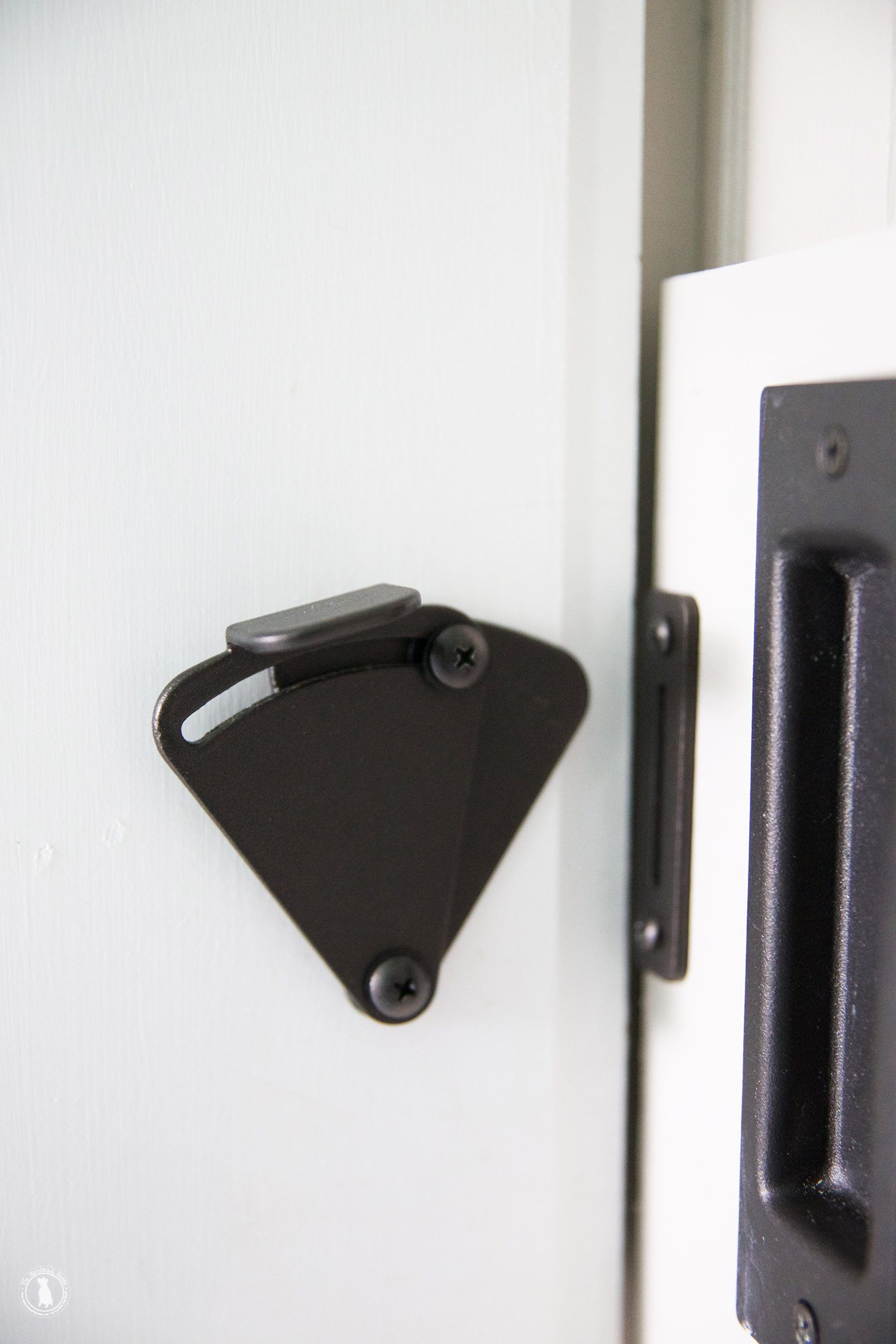 Bathroom stall door latch - How To Get Privacy And Add A Lock To Your Barn Door