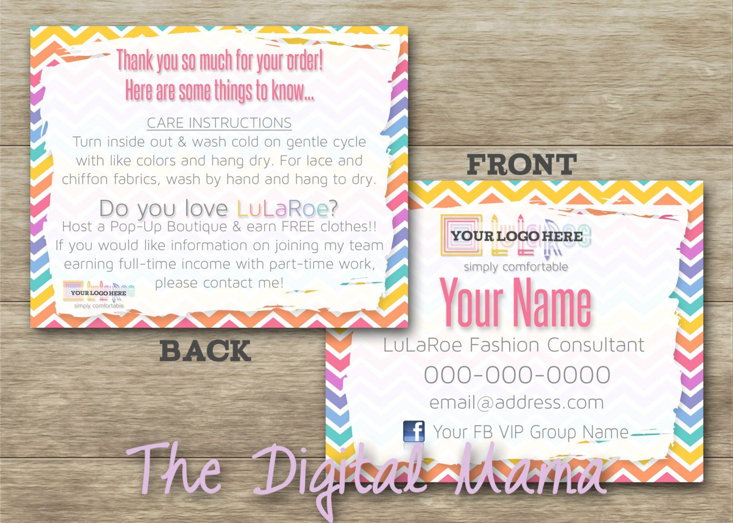 Direct sales customer thank you for order card lularoe digital direct sales customer thank you for order card lularoe digital download by thedigitalmama on kristyandbryce Images