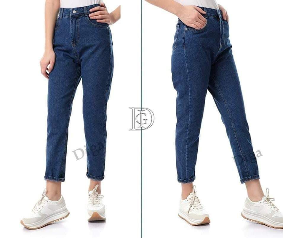 Digaofficial On Instagram عرض على مام فيت مقاس ٢٨ فقط السعر ١٣٠ جنيه بدلا من ٢٠٠ جنيه يلبس من ٤٥ ل ٥٠ كيلو Mom Jeans Fashion Pants
