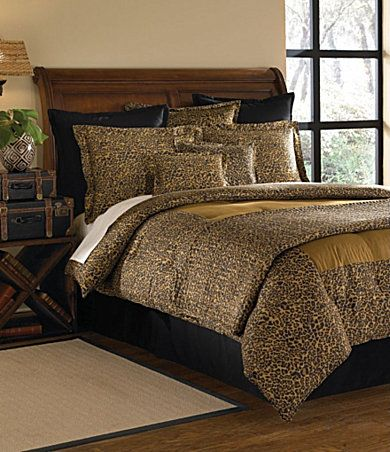Nobility Elements Safari Leopard Bedding Dillards