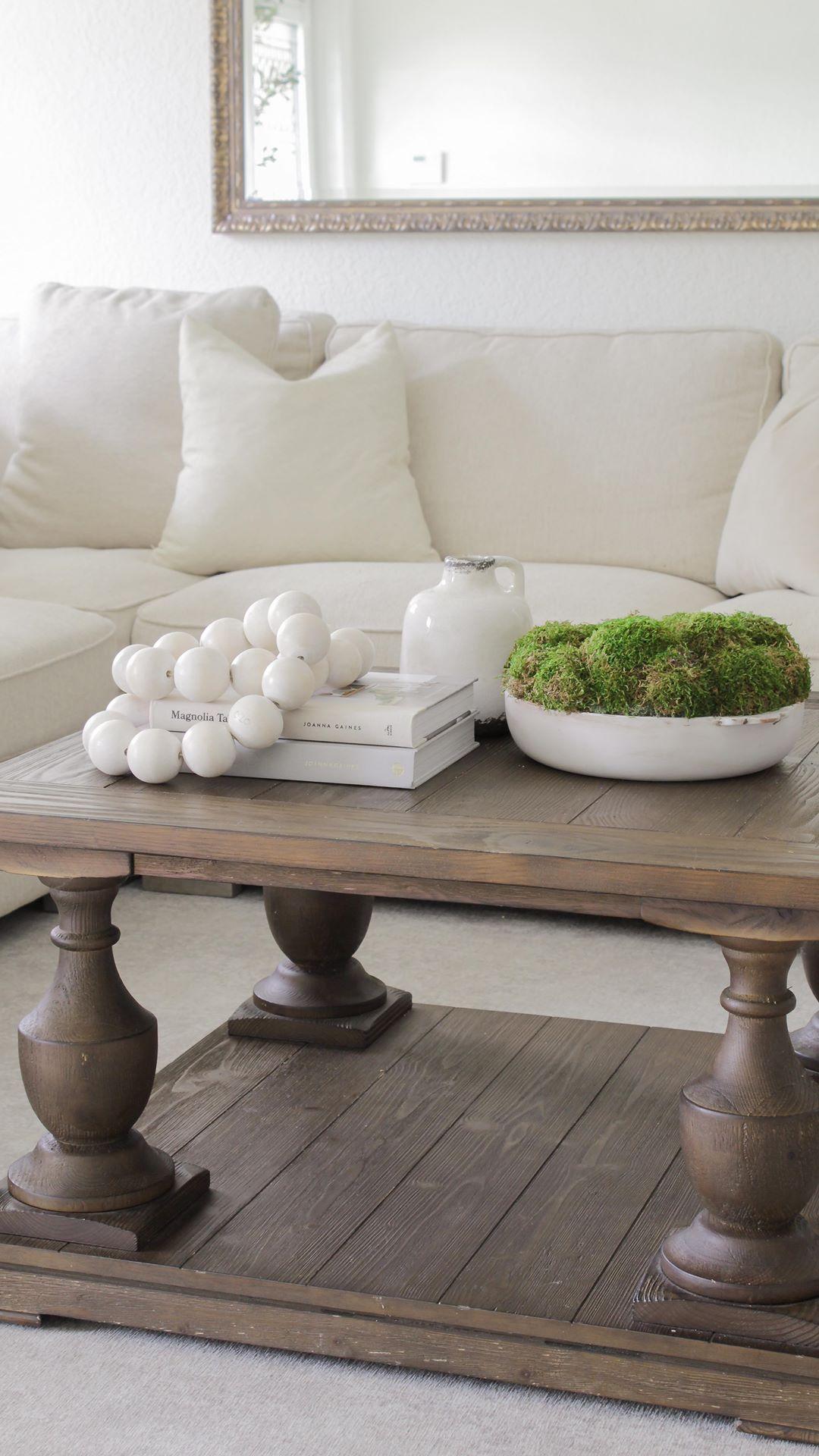 Living room table bowl