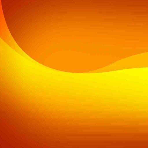 Orange Wallpaper, Abstract