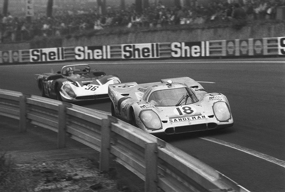 1970 Le Mans 24 Hours Le Mans Sports Car Racing Porsche