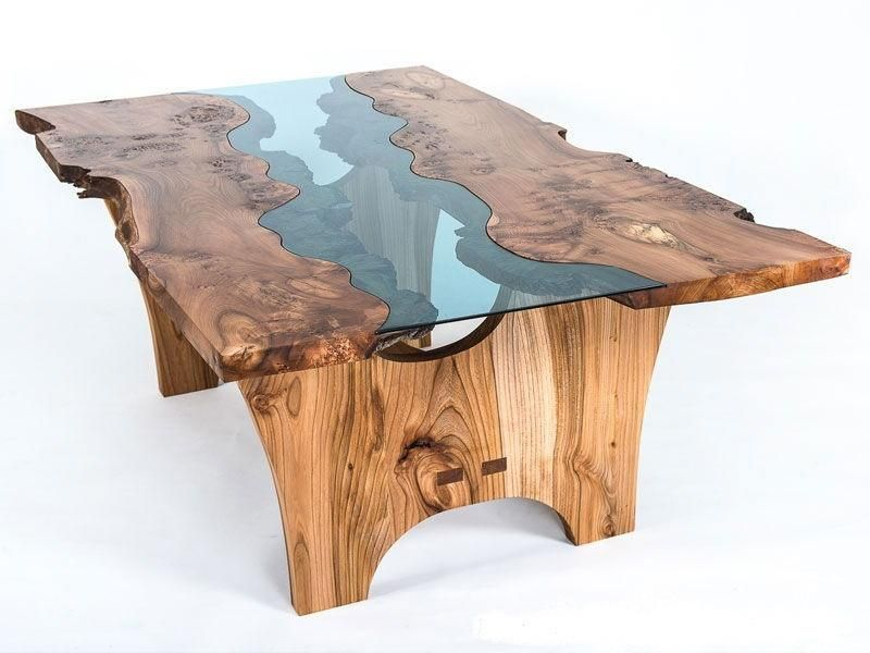 22 Unique River Tables To Beautify Your Living Room Wood Slab