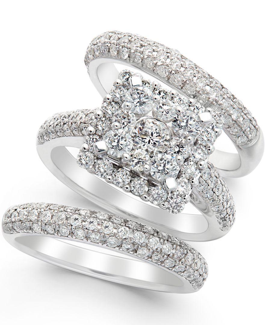 Diamond Bridal Set in 14k White Gold (2-2/3 ct. t.w.)