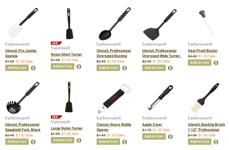 visit - Kitchen Tools List