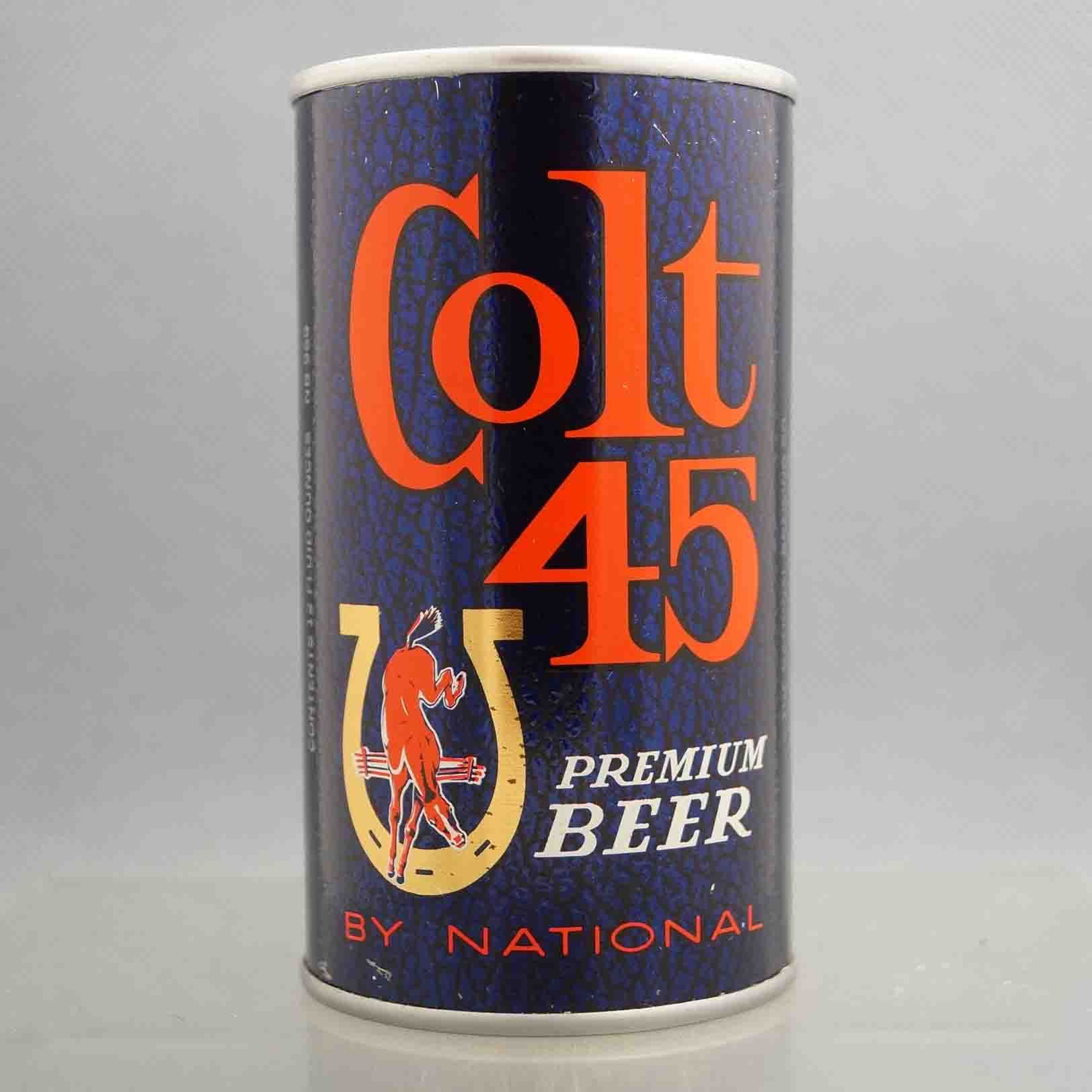 Colt 45 Beer / Textured snake skin finish ( Rolled , test can ) , Baltimore, MD