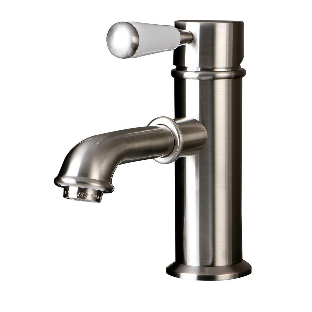 kingston brass paris single hole 1 handle mid arc bathroom faucet in rh pinterest com