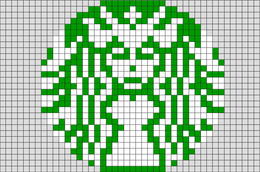 Starbucks pixel art from starbucks coffee - Pokemon logo minecraft ...