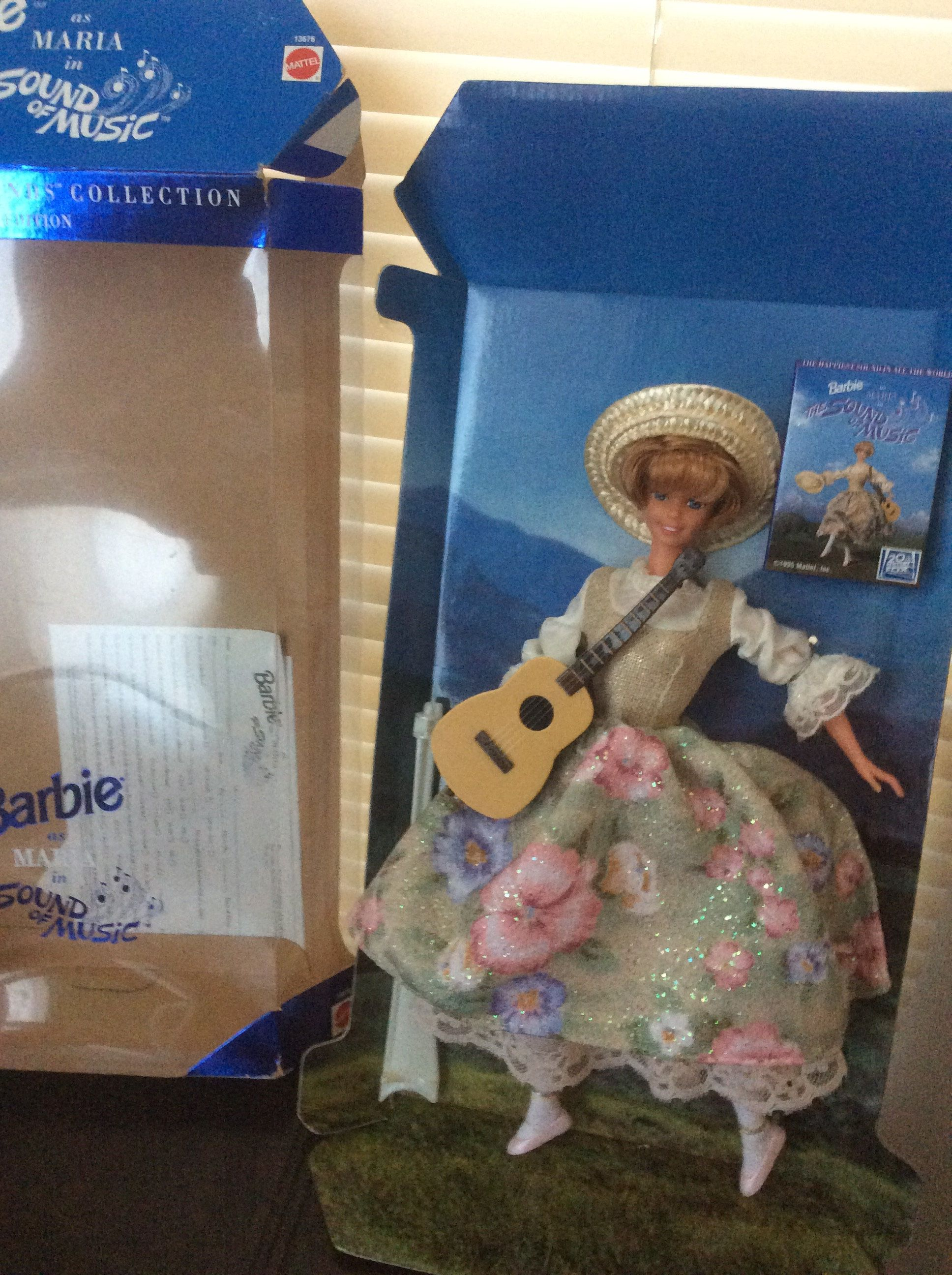 Vintage Barbie as Maria in the Sound of Music Hollywood Legends Collection special edition