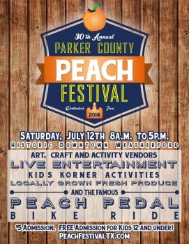 Parker County Peach Festival: July 12th | Summer in Texas ...