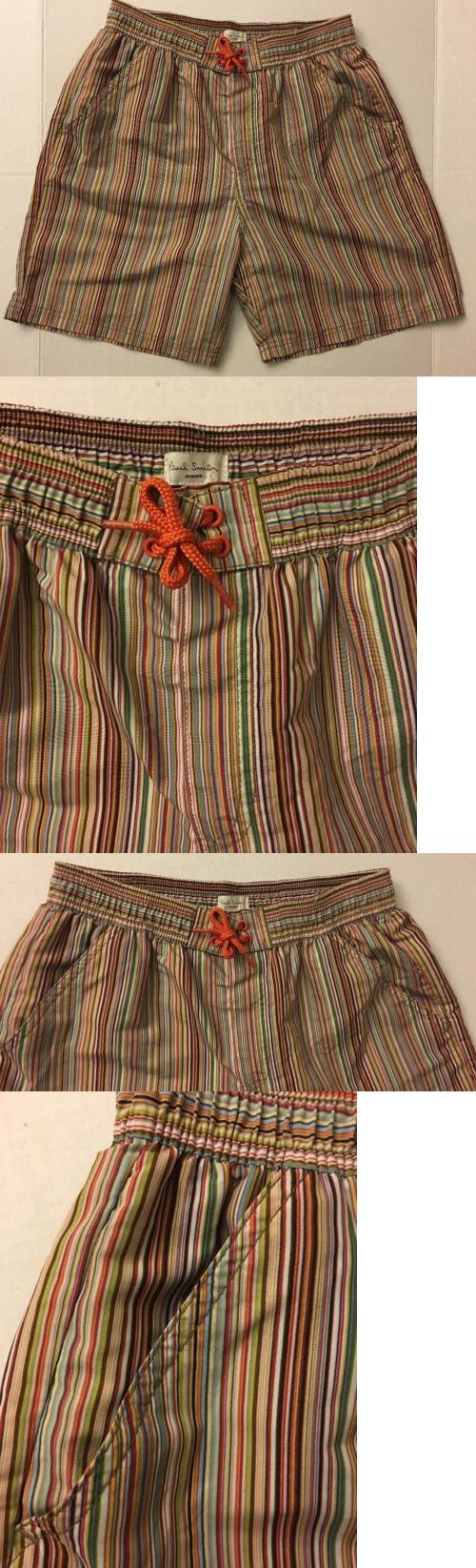 836d9dee0a Swimwear 51919: Paul Smith Junior Boys Striped Short Swim Trunk Bathing  Suit 14A Nwt -> BUY IT NOW ONLY: $99.99 on eBay!