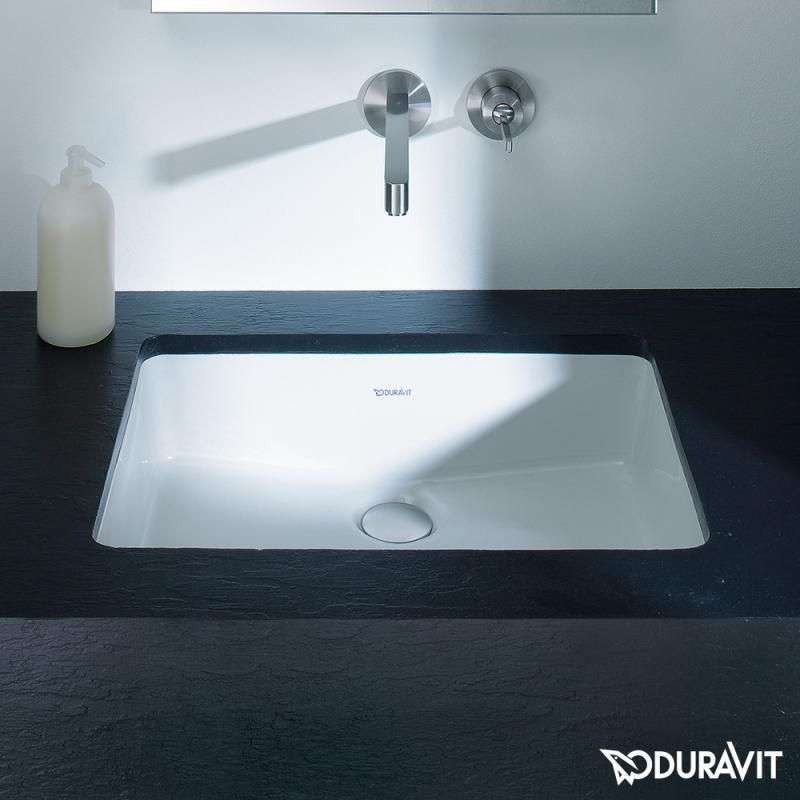 Duravit Vero Undercounter Washbasin White With Wondergliss Duravit Waschtisch Waschbecken
