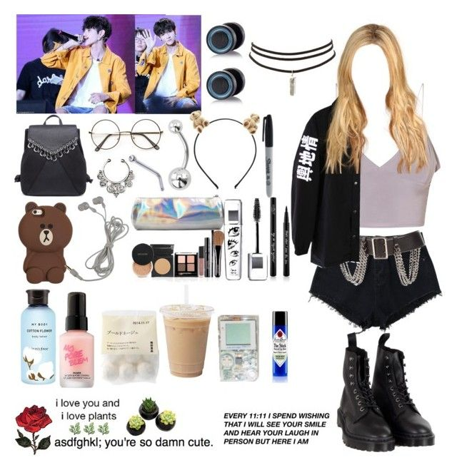Fan Fansign With Samuel By Vbril On Polyvore Featuring Fashion Style Dr Martens Charlotte